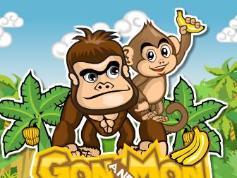 小猴子和妈妈图片