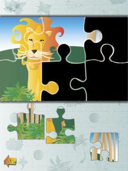 儿童智力拼图:丛林动物 pro