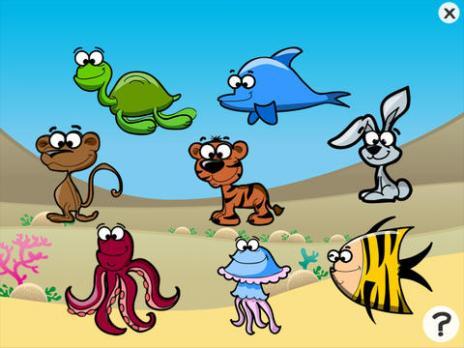 >模拟经营>儿童游戏2-5岁左右的海洋动物:游戏,拼图和谜语的幼儿园
