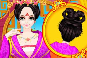 中国公主古代发型设计图片
