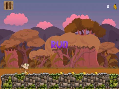 >动作冒险>香蕉猴子运行游戏:有趣的动物游戏免费:为 ipad 和 iphone
