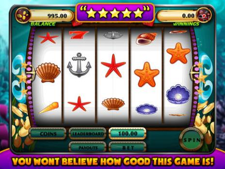 >小游戏>水下的老虎机游戏 - 3d underwater slots machine game