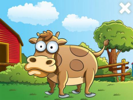儿童农场 - 动物和拼图