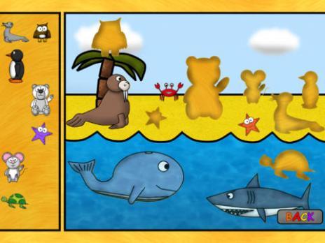 儿童动物游戏:谜语hd